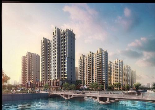 四栋统建楼【港铁时代】单价6800元,牛湖地铁口900米