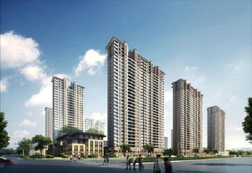 东莞南城6栋大型花园洋房《南城公园里》小产权房,单价8000元起,地铁口物业