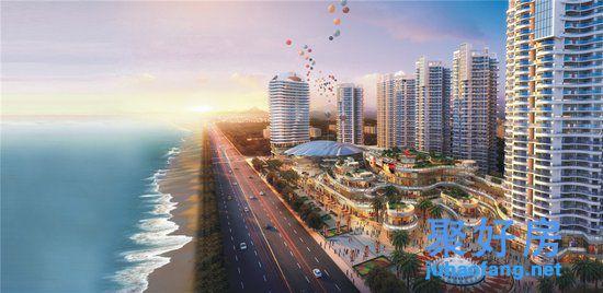 【惠州•十里观海苑】推窗见海,首付8万起即可拥有一套一线海景房